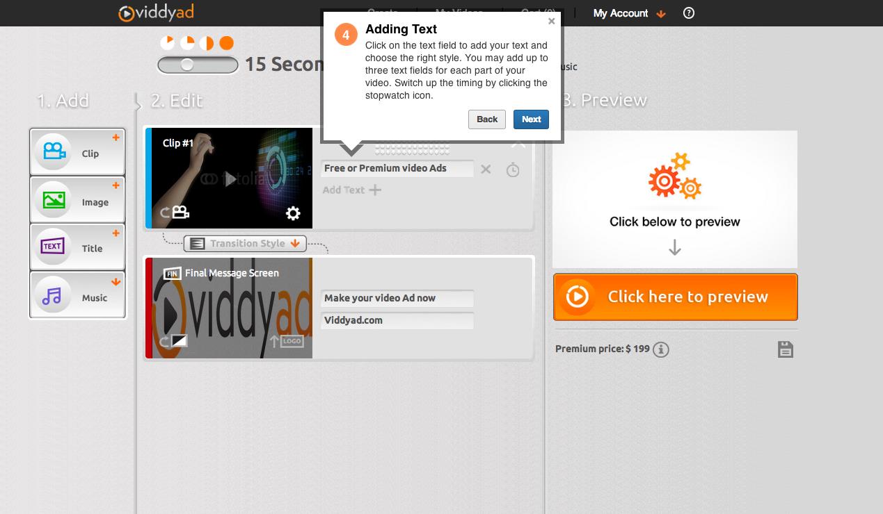Interactive tour screenshot