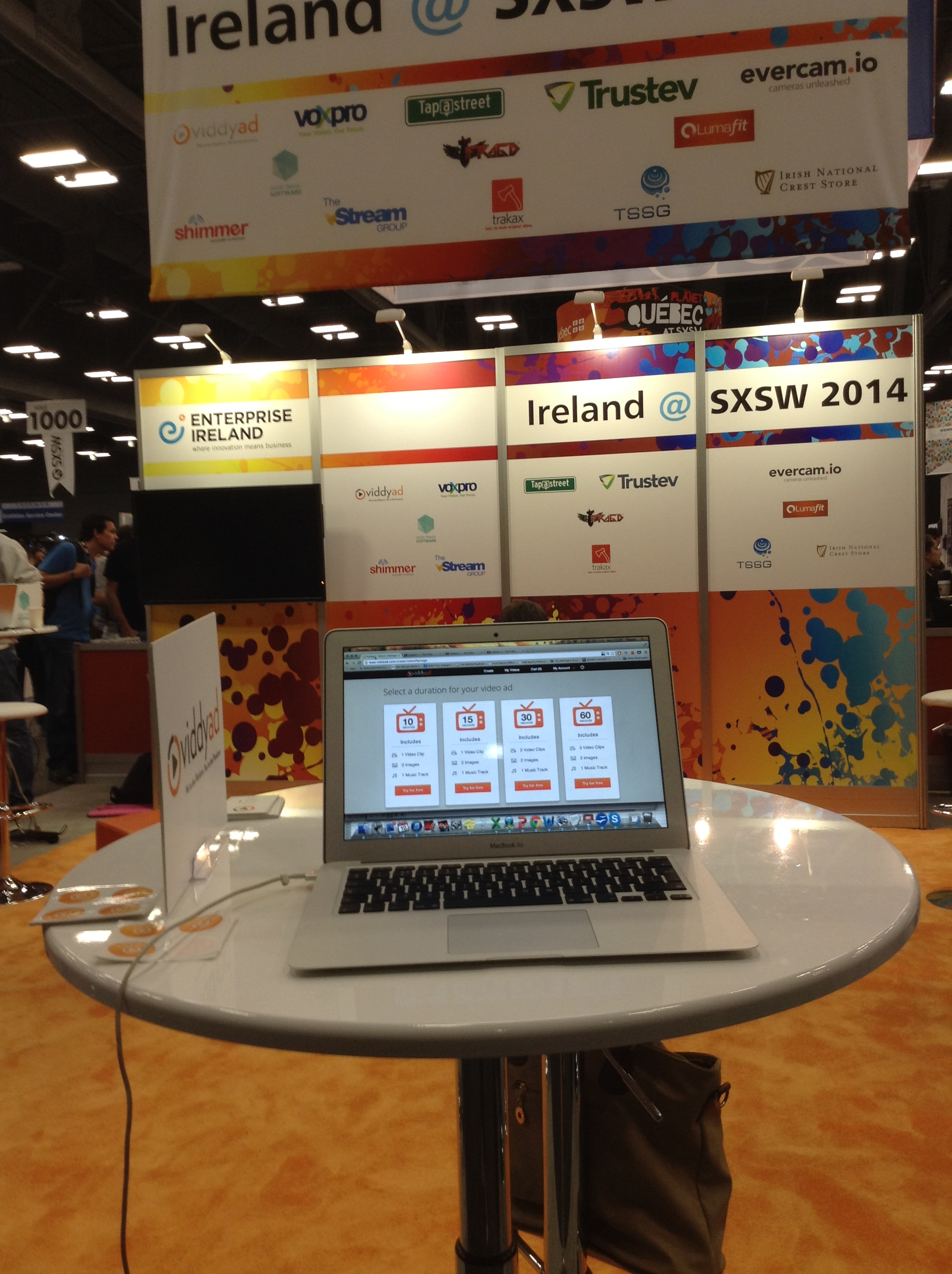 Viddyad was part of the Irish Delegation attending SXSW with Enterprise Ireland