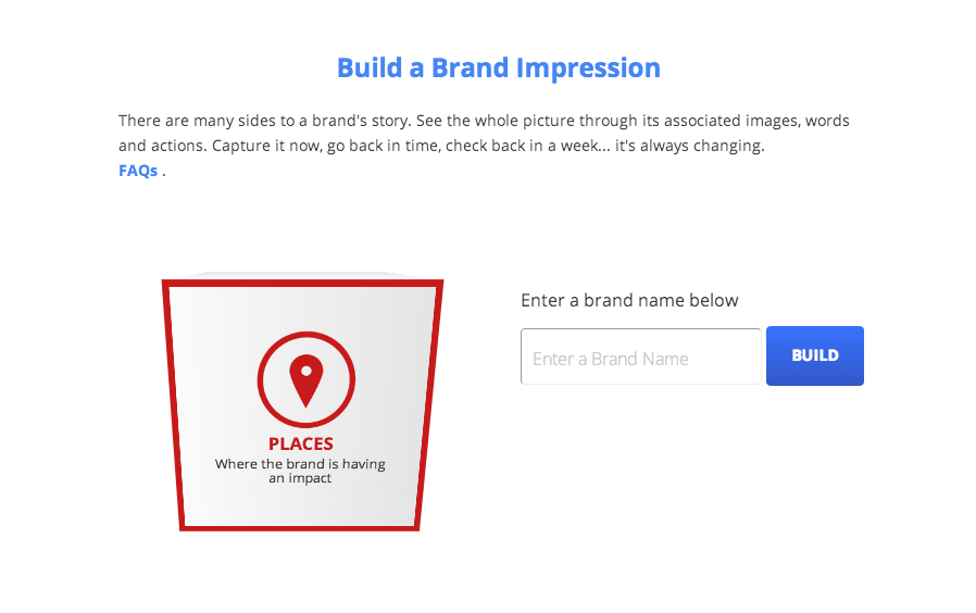 Build a brand impression