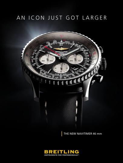 Breitling Flipboard ad