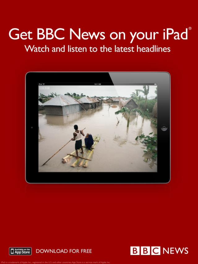 BBC News Flipboard ad